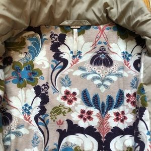Free People Jackets & Coats - Free People floral liner jacket